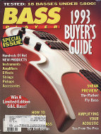 Bass Player Vol. 3 No. 8 Magazine