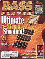 Bass Player Vol. 8 No. 1 Magazine