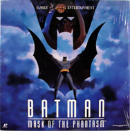 Batman: Mask Of The Phantasm Laserdisc