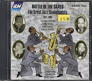 Battle of The Saxes CD