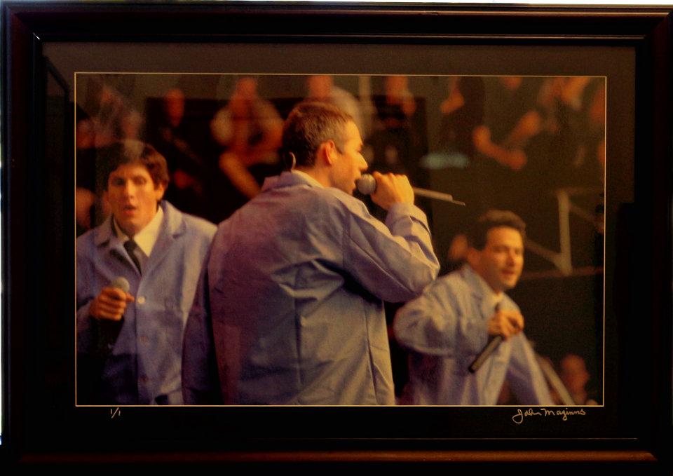 Beastie Boys Framed Vintage Print