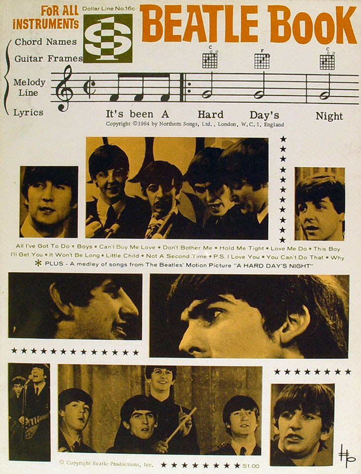Beatle Book: It's Been A Hard Day's Night