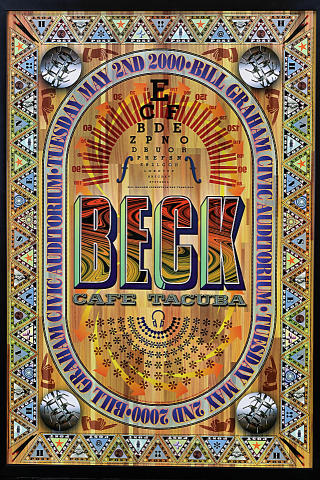 Beck Framed Poster