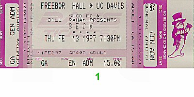 Beck Vintage Ticket