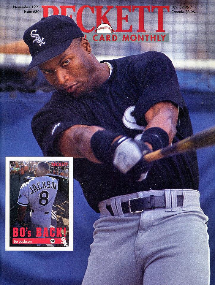 Beckett Baseball Card Monthly Nov 1,1991