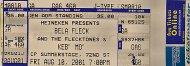 Bela Fleck & The Flecktones Vintage Ticket