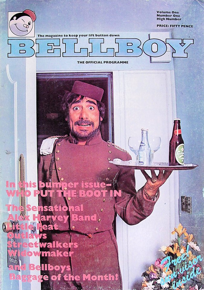 Bellboy Vol. 1 No. 1