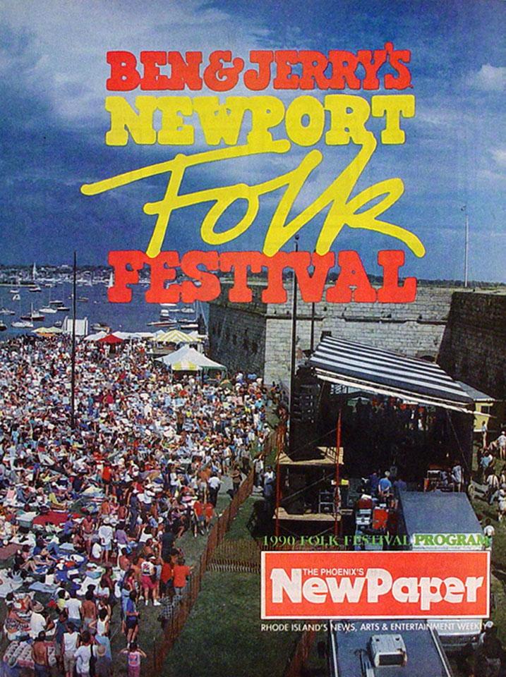 Ben And Jerry's Newport Folk Festival Program