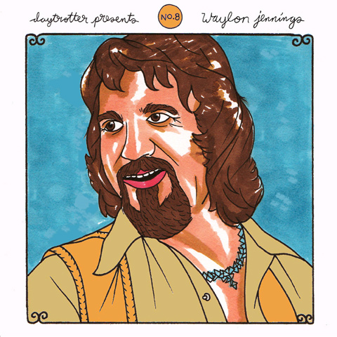 "Ben Kweller / Waylon Jennings Vinyl 12"" (New) reverse side"