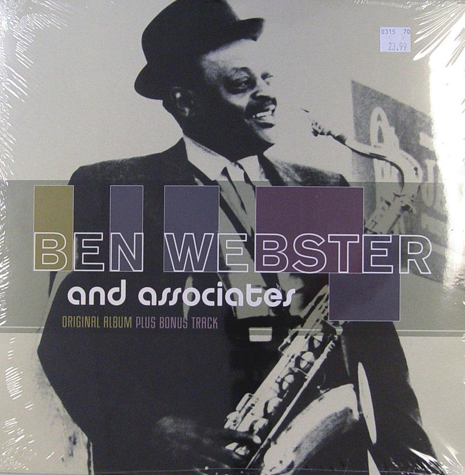 """Ben Webster Vinyl 12"""" (New)"""