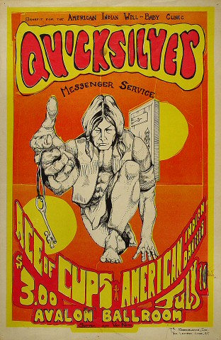Benefit for American Indian Well-Baby Clinic Poster
