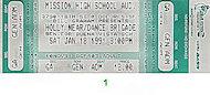 Benefit for Buena Vista Schools Vintage Ticket