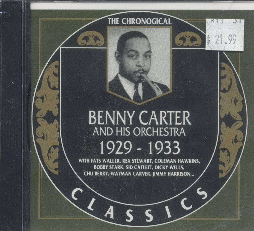 Benny Carter And His Orchestra CD