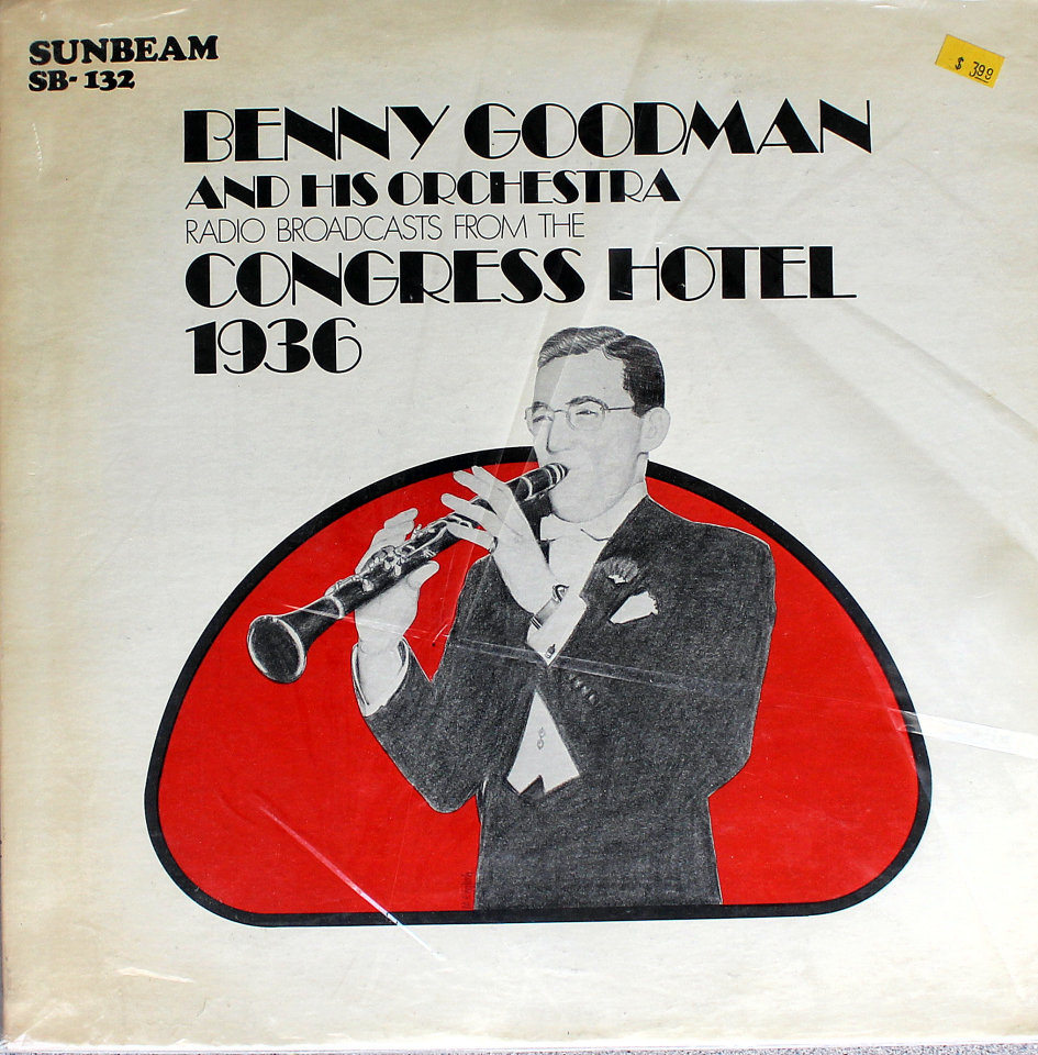 """Benny Goodman and His Orchestra Vinyl 12"""" (Used)"""