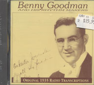 Benny Goodman & His Rhythm Makers CD