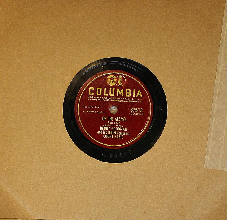 Benny Goodman / Count Basie 78