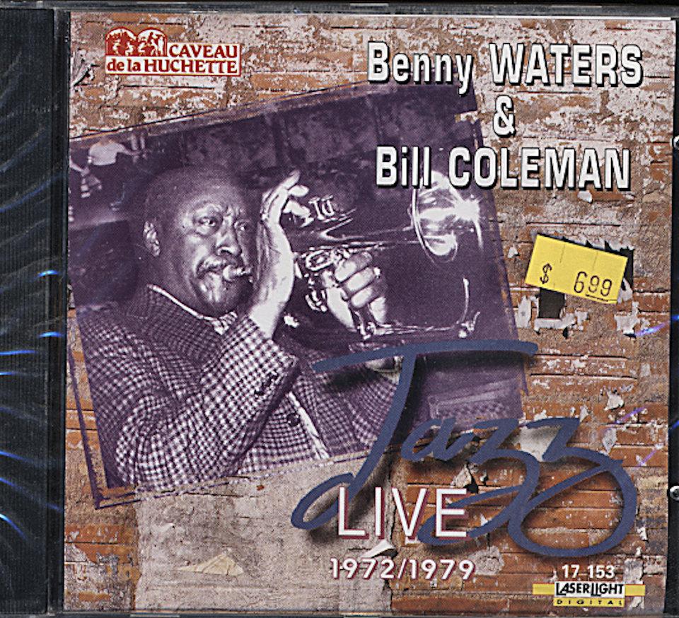 Benny Waters & Bill Coleman CD