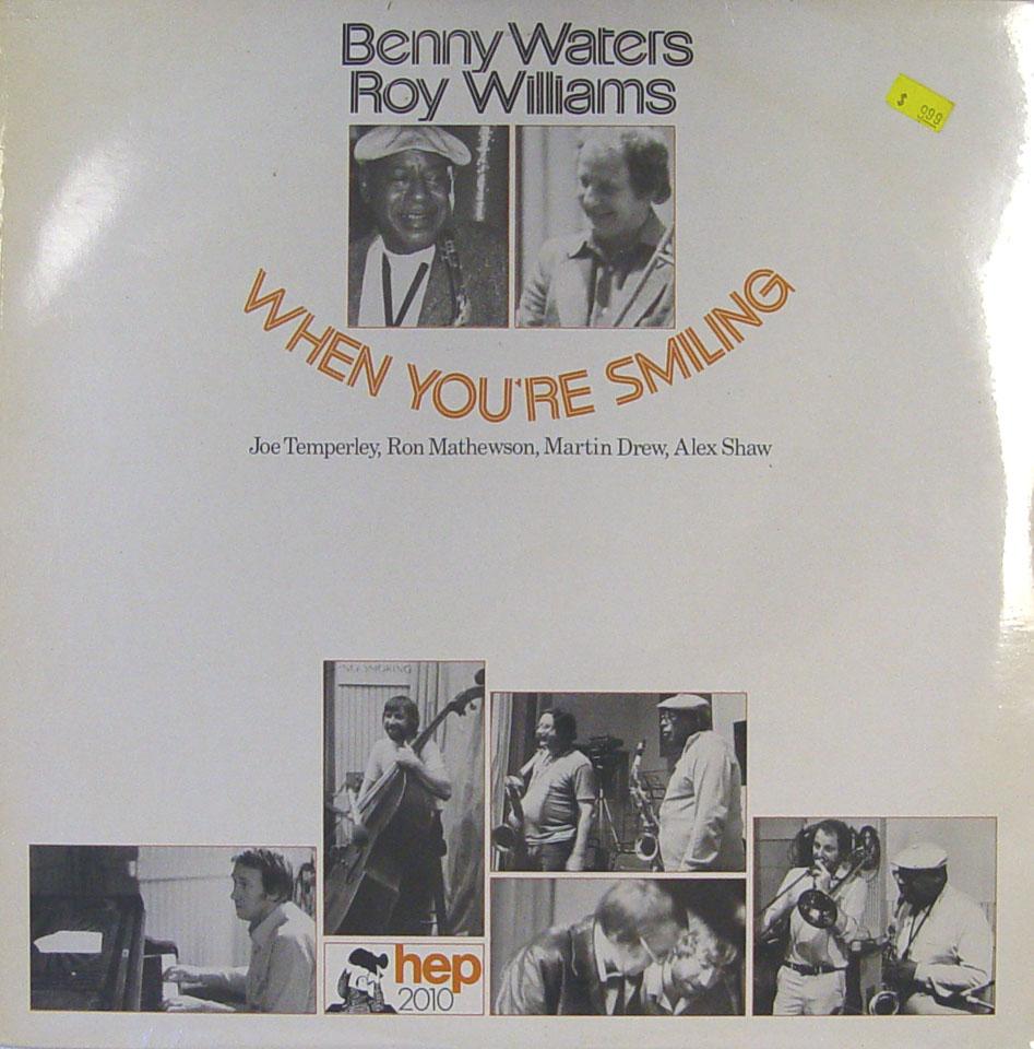 "Benny Waters / Roy Williams Vinyl 12"" (New)"