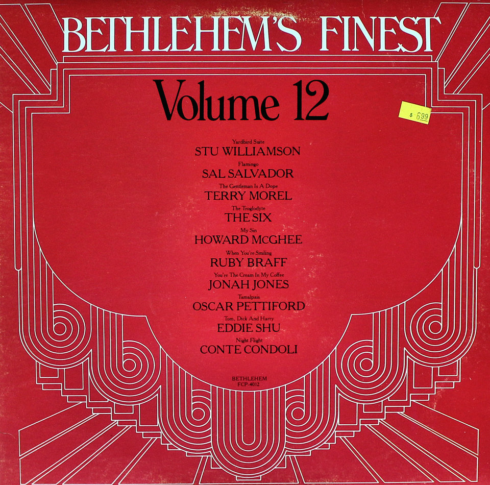 "Bethlehem's Finest: Volume 12 Vinyl 12"" (Used)"