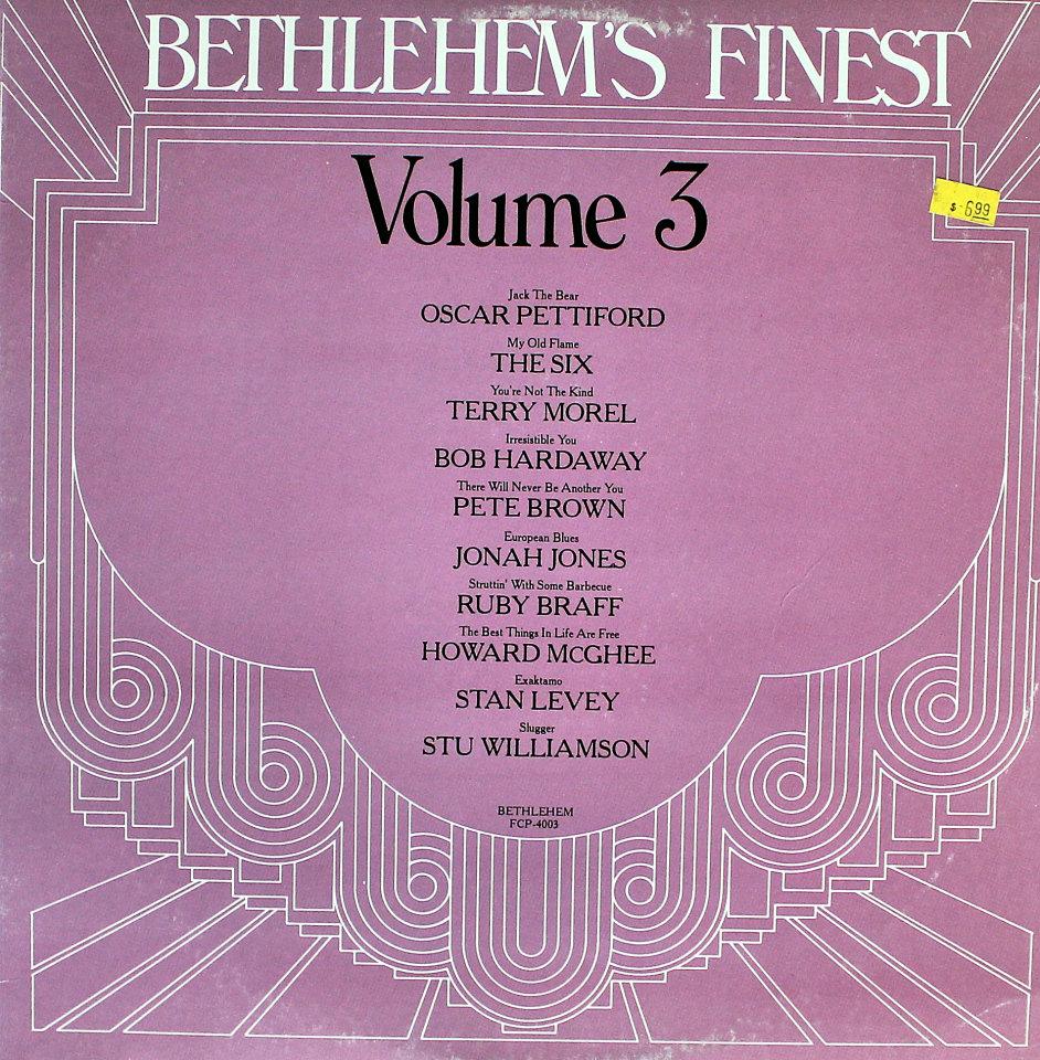 "Bethlehem's Finest: Volume 3 Vinyl 12"" (Used)"