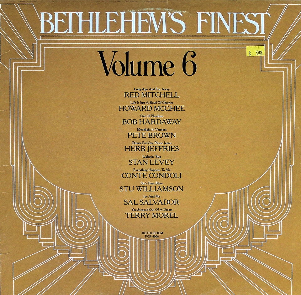 "Bethlehem's Finest: Volume 6 Vinyl 12"" (Used)"