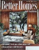 Better Homes And Gardens Apr 1,1954 Magazine