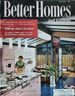 Better Homes And Gardens Apr 1,1957 Magazine