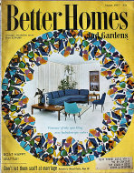 Better Homes And Gardens Aug 1,1957 Magazine