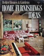 Better Homes And Gardens; Home Furnishing Ideas Magazine