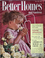 Better Homes And Gardens Jun 1,1957 Magazine