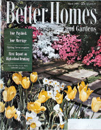 Better Homes And Gardens Magazine March 1954 Magazine