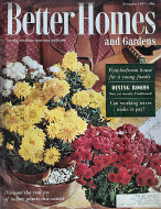 Better Homes And Gardens Magazine November 1957 Magazine