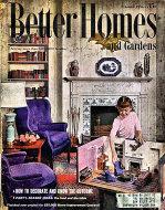 Better Homes And Gardens Oct 1,1956 Magazine