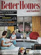 Better Homes And Gardens Oct 1,1957 Magazine