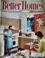 Better Homes And Gardens Oct 1,1959 Magazine