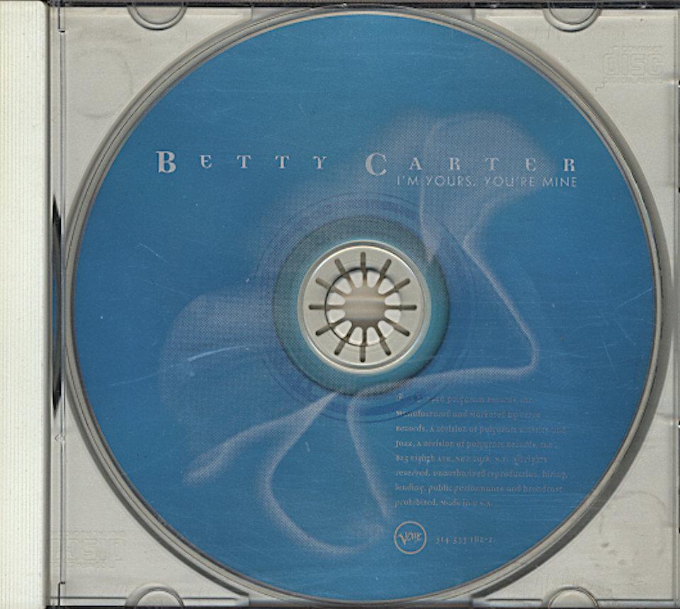 Betty Carter CD
