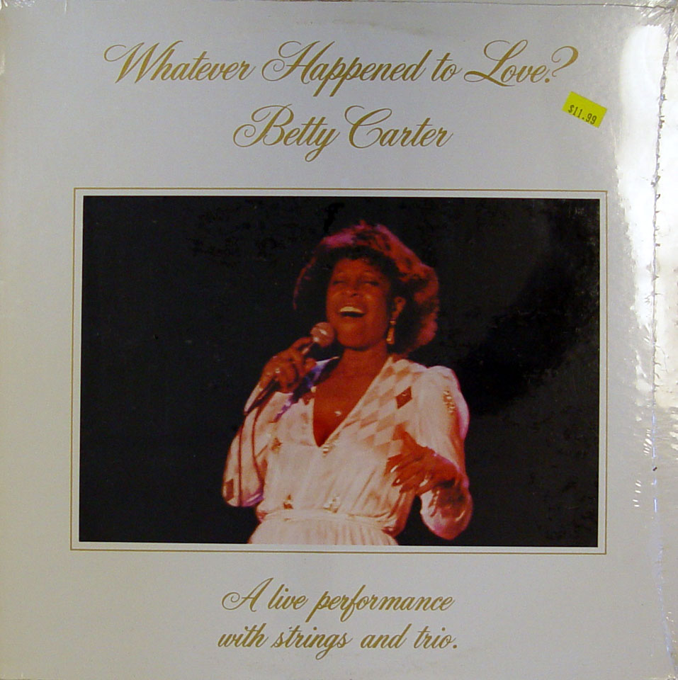 "Betty Carter Vinyl 12"" (New)"