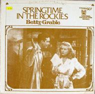 "Betty Grable Vinyl 12"" (New)"