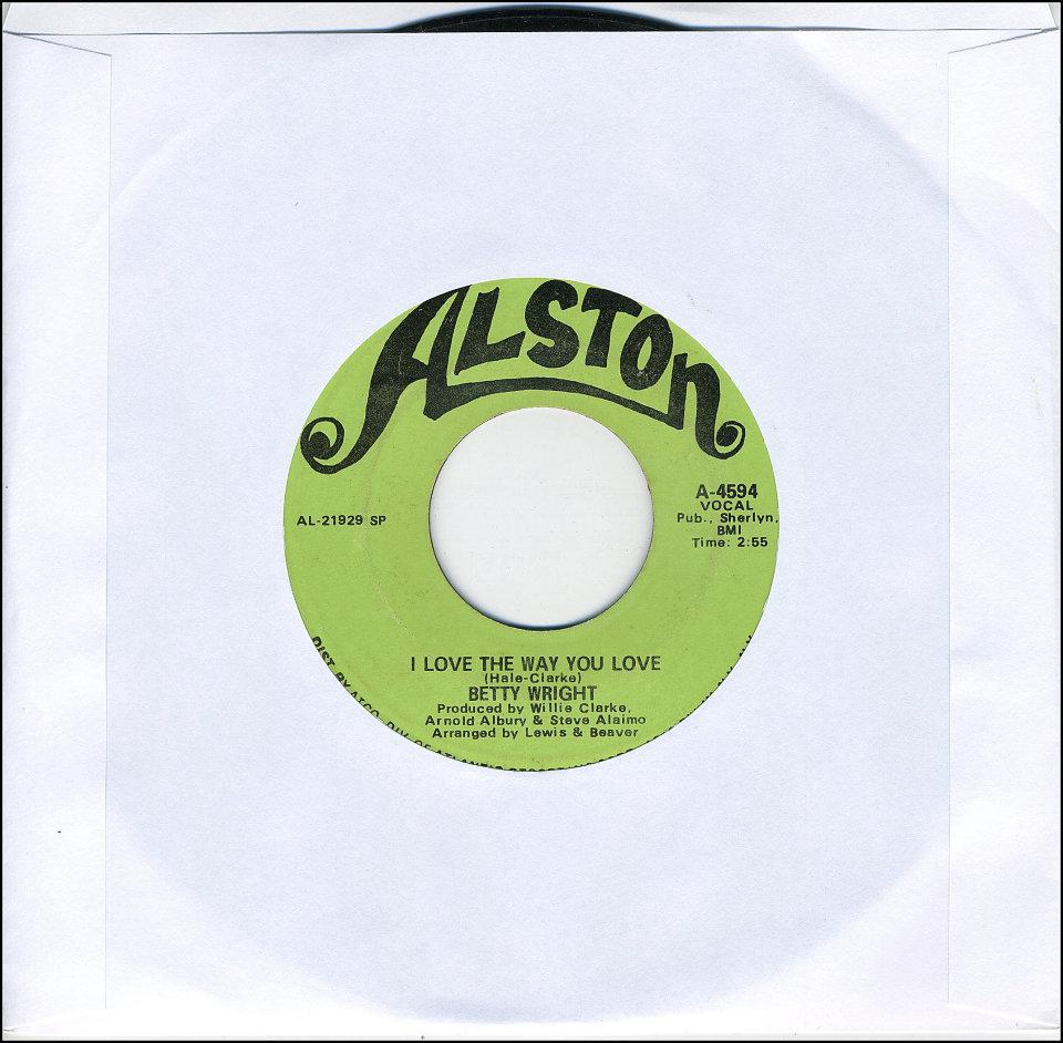 "Betty Wright Vinyl 7"" (Used)"