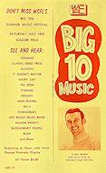 Big 10 Countdown Handbill