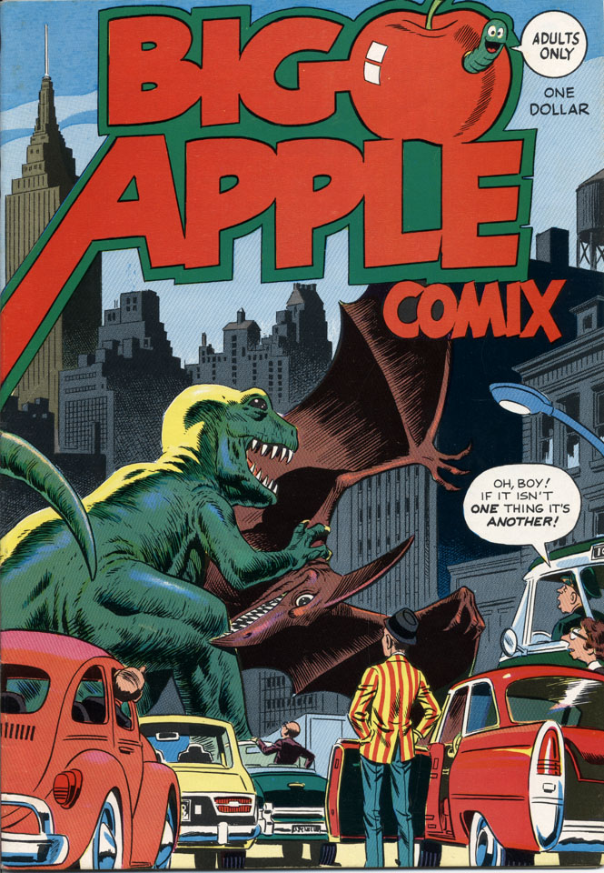 Big Apple Comix Comic Book