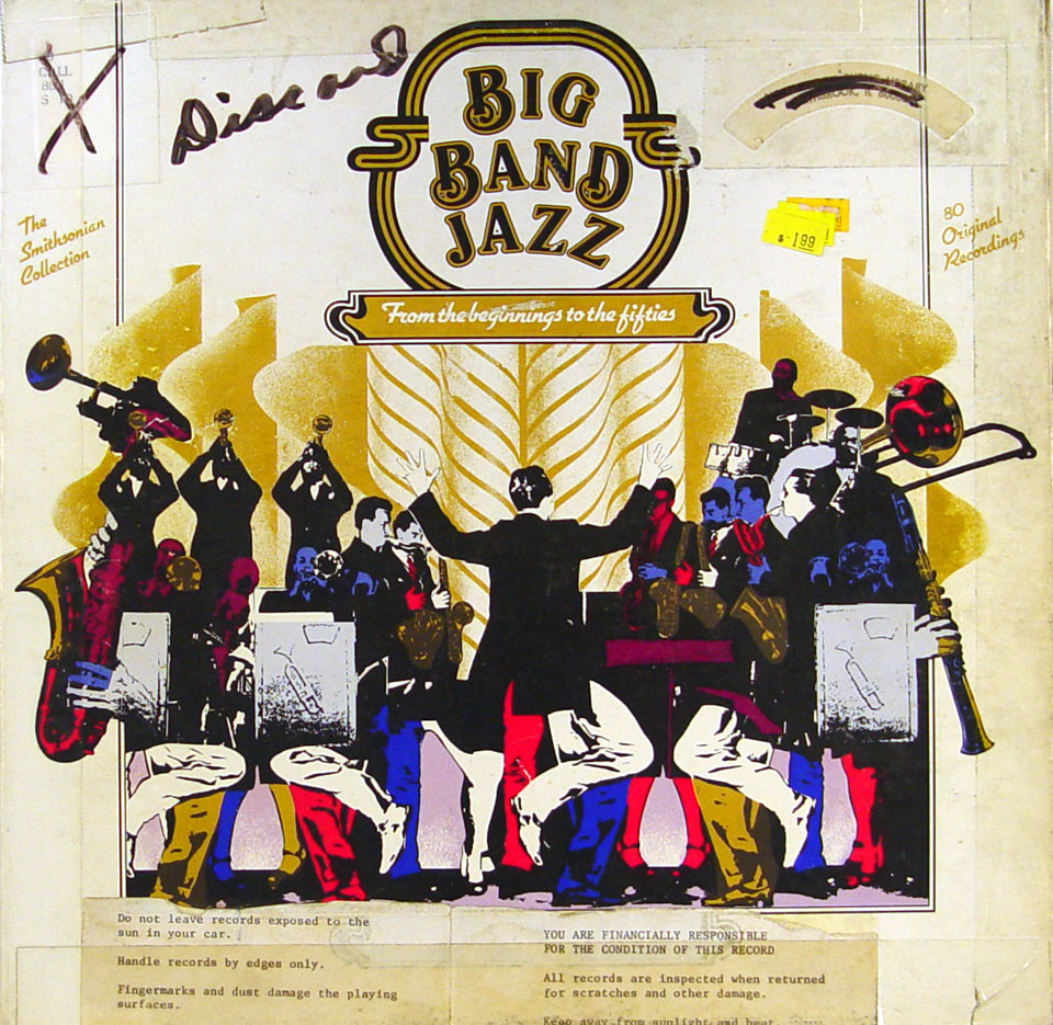 """Big Band Jazz: From The Beginnings To The Fifities Vinyl 12"""" (Used)"""