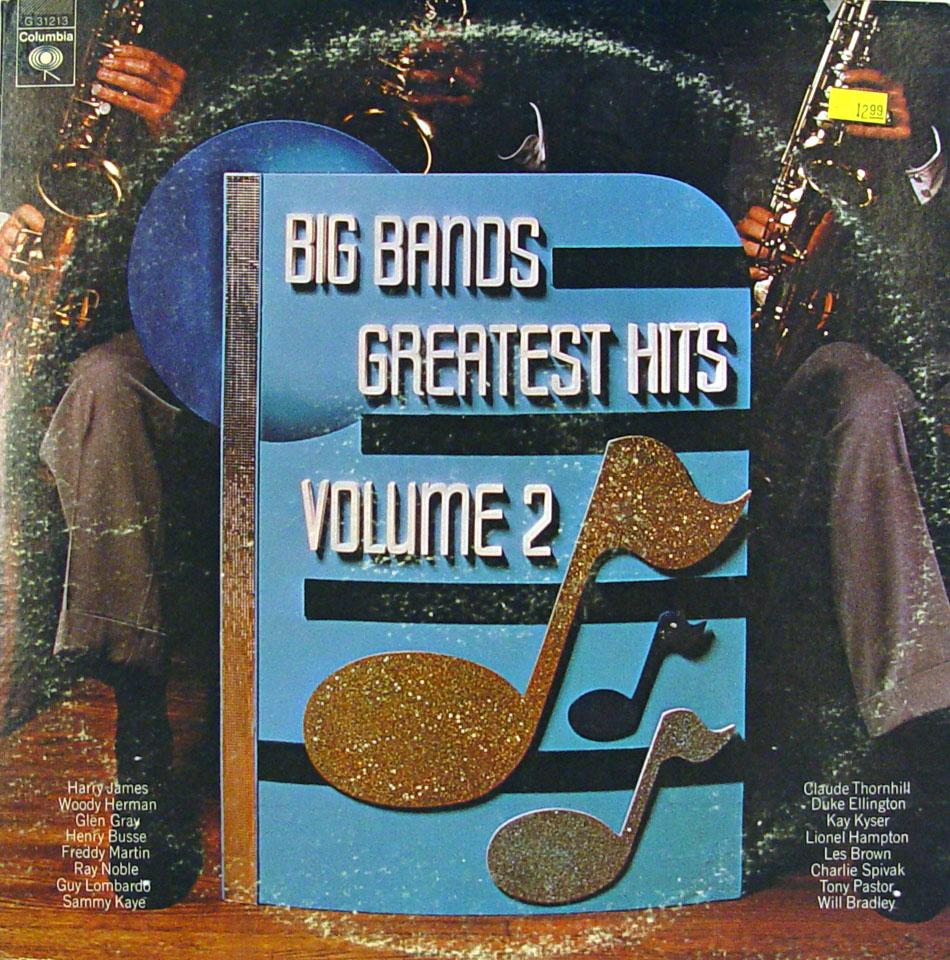 "Big Bands Greatest Hits Volume 2 Vinyl 12"" (Used)"