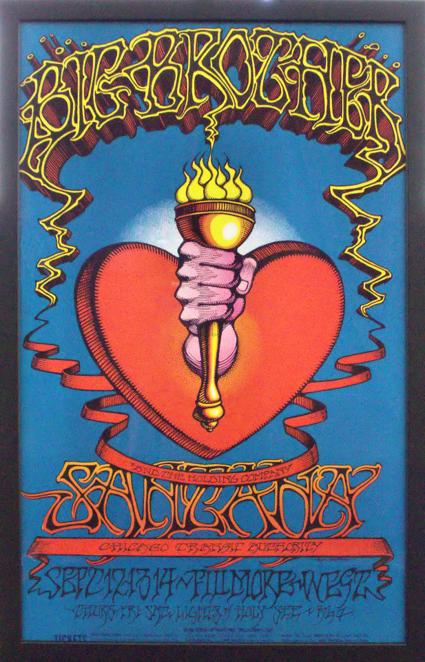 Big Brother and the Holding Company Framed Poster