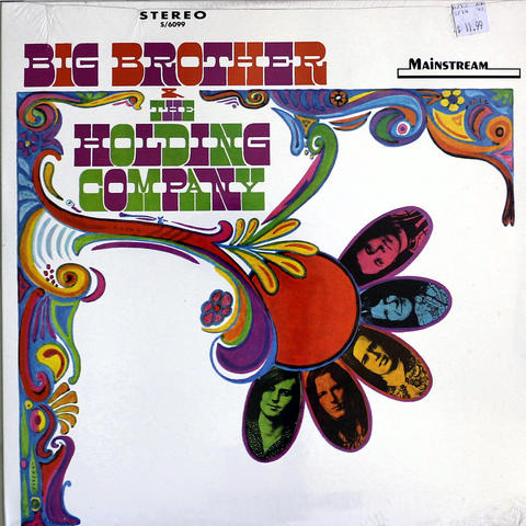"Big Brother and the Holding Company Vinyl 12"" (New)"