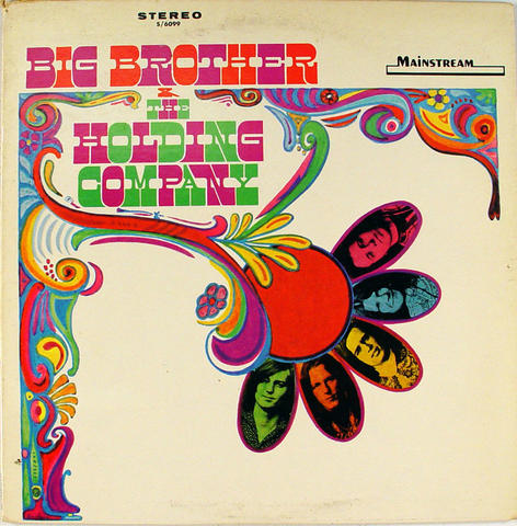 "Big Brother and the Holding Company Vinyl 12"" (Used)"