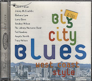 Big City Blues West Coast Style CD