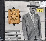 Big Eye Louis Nelson CD