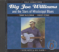 Big Joe Williams And The Stars of Mississippi Blues CD