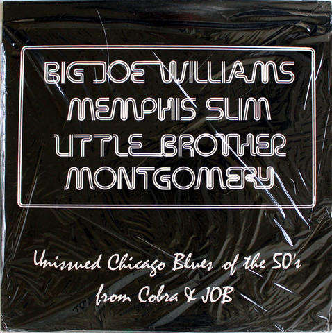 "Big Joe Williams Vinyl 12"" (New)"